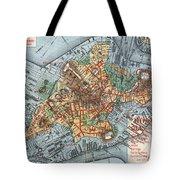 Map: Boston, C1880 Tote Bag