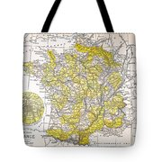 Map: France Tote Bag