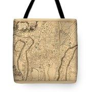 Map Of Cork 1771 Tote Bag