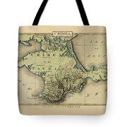 Map Of Crimea 1815 Tote Bag