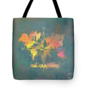 Map Of The World Wind Rose 2 Tote Bag