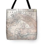 Map: Panama, 1907 Tote Bag