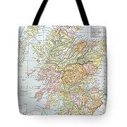 Map: Scotland Tote Bag