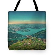 Map View Tote Bag