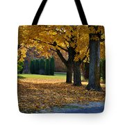 Maple And Arborvitae Tote Bag