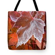 Maple Frost  Tote Bag