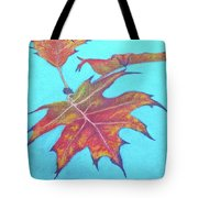 Drifting Into Fall Tote Bag by Phyllis Howard