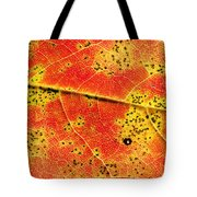 Maple Leaf Detail Tote Bag