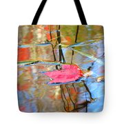 I Am Here In The Changing Waters Tote Bag