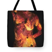 Maple Leaves Tote Bag by Arla Patch