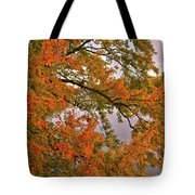 Maple Over The River Tote Bag
