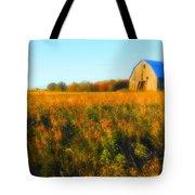 Maple Ridge Fall Barn Tote Bag