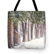 Maple Street Maples Colourized Tote Bag