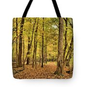 Maple Woods Trail Tote Bag
