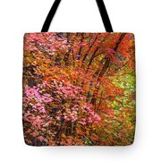 Maples In Pink Tote Bag