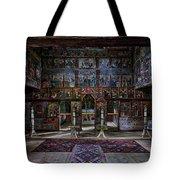 Maramures Romania Church Interior Tote Bag
