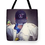 Boston Marathon True Grit  Tote Bag