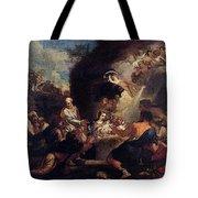 Maratti Carlo Adoration Of The Shepherds Tote Bag