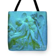 Marble Angel Relief Tote Bag