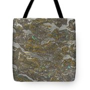 Marble Bark Colored Abstract Tote Bag