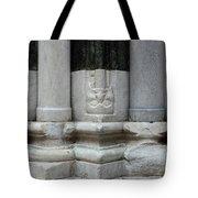 Marble Columns Tote Bag