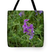 Marble Falls Texas Purple Puzzle Tote Bag