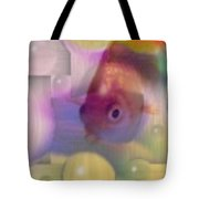 Marble Fish Tote Bag