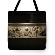Marble Last Supper Tote Bag