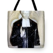 Marble Message Tote Bag