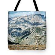 Marbled Mountains Tote Bag
