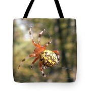 Marbled Orb Weaver Tote Bag