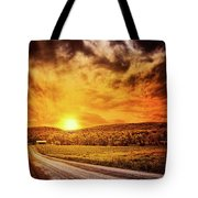 Marbled Sky Tote Bag