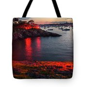 Marblehead Harbor Illumination 2017 Chandler Hovey Tote Bag
