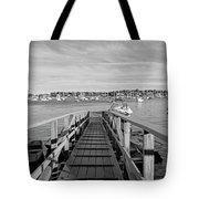 Marblehead Massachusetts Dock Tote Bag