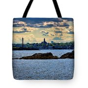 Marblehead Points To The Ocean Tote Bag