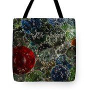 Marbles Clear Soda 2 Tote Bag