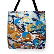Marbles Of Life Tote Bag