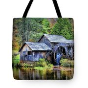 Mabry Mill A Blue Ridge Parkway Favorite Tote Bag by Ola Allen