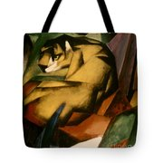 Marc: The Tiger, 1912 Tote Bag