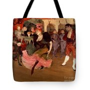 Marcelle Lender Dancing The Bolero In Chilperic Tote Bag by Henri de Toulouse Lautrec