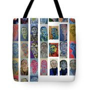 March Bachmors Dailyselfportrait Tote Bag