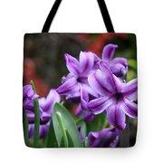 March Hyacinths Tote Bag