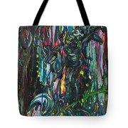 March Into The Sea Tote Bag