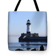 March Lghthouse Tote Bag