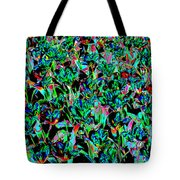 March Of The Flowers Tote Bag