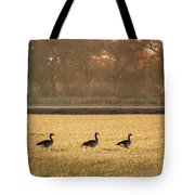 March Of The Geese Tote Bag