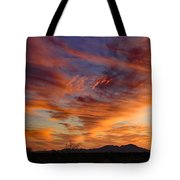 March Sunset Tote Bag