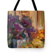Marche' Aux Fleurs Tote Bag