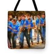 Marching Band - Junior Marching Band  Tote Bag by Mike Savad