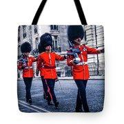 Marching Grenadier Guards Tote Bag